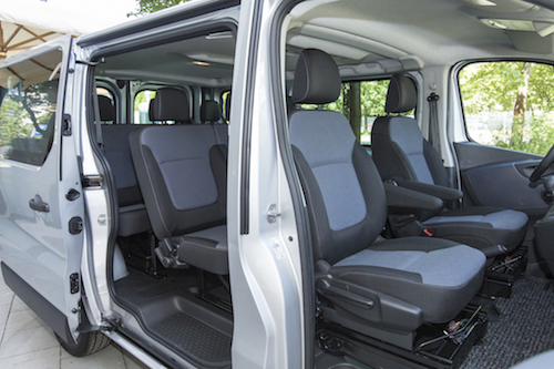 Servizio Minibuses with 9 passenger seats (Car rental without driver ...