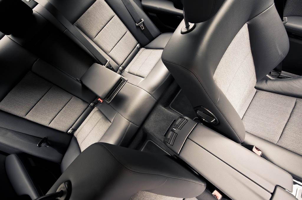 Mercedes E class inside