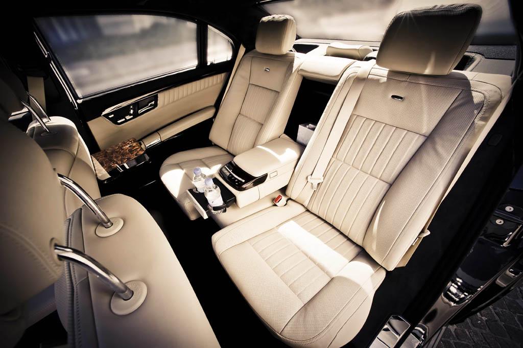 Mercedes S class inside
